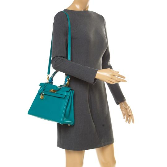 Hermès Leather Classic Tote in Green Image 2