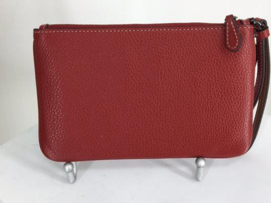 COACH Wristlet in Red Image 1
