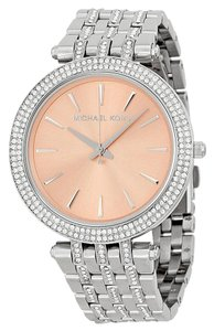 Michael Kors $250 NWT Women's Darci Glitz Watch 39mm MK3218
