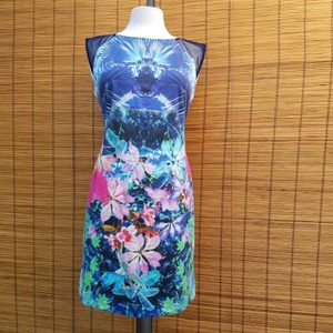 Julia Jordan short dress Blue & Multi on Tradesy