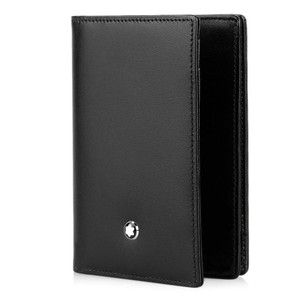 Montblanc Business Card Gusset Leather Wallet