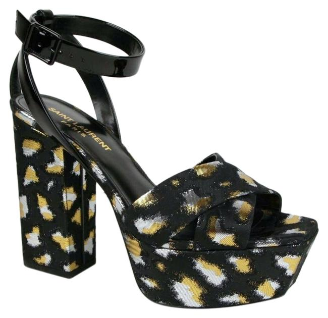 Item - Farrah Jacquard Platform Sandals Size EU 36.5 (Approx. US 6.5) Regular (M, B)