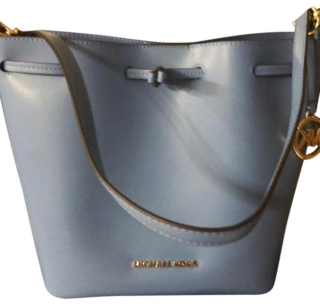 Item - Bucket Eden Light Blue Leather Shoulder Bag
