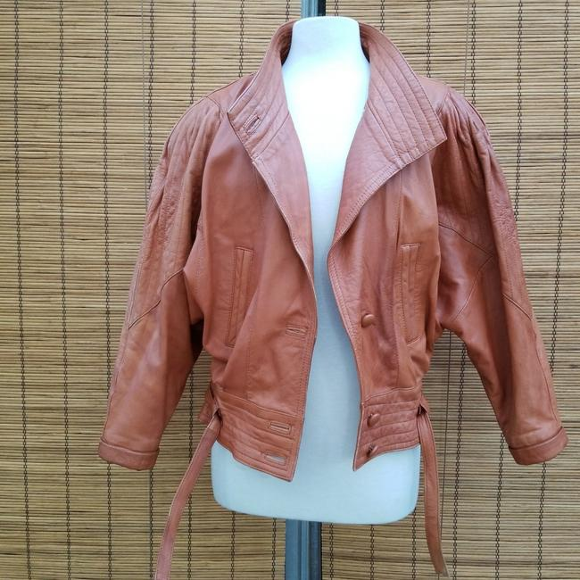 Item - Brown 80's 90's Jacket Size 6 (S)