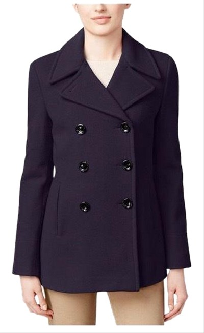 Item - Purple Double Breasted Coat Size 16 (XL, Plus 0x)