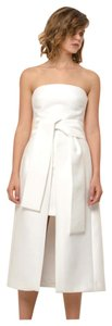 C/MEO COLLECTIVE Strapless Formal Wedding Reception Dress