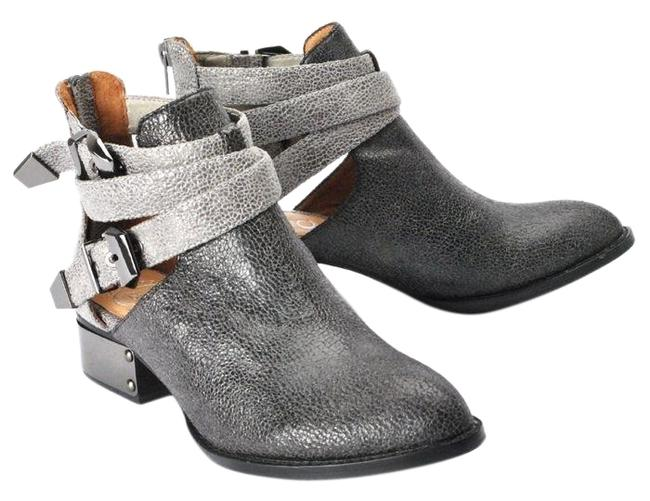Item - Black and Silver Isley-pl Boots/Booties Size US 7 Regular (M, B)