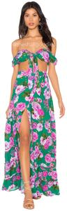 Green Maxi Dress by Lovers + Friends Floral
