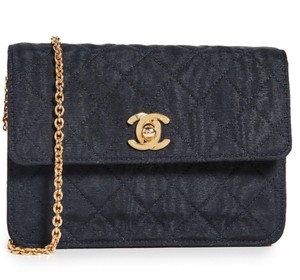 Chanel Louis Vuitton Dior Hermes Quilted Chain Cc Logo Cross Body Bag