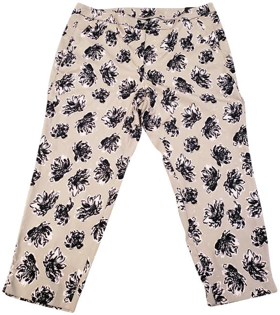Item - Khaki Women's Madison with Floral Print 22)new Pants Size 22 (Plus 2x)