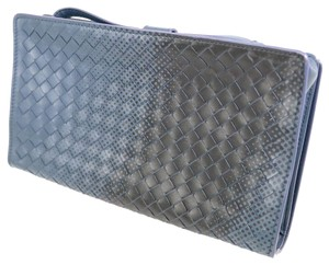Bottega Veneta Bottega Veneta BOTTEGA VENETA Intrechart Leather Continental Wallet Long Men