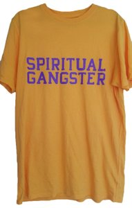Spiritual Gangster T Shirt yellow