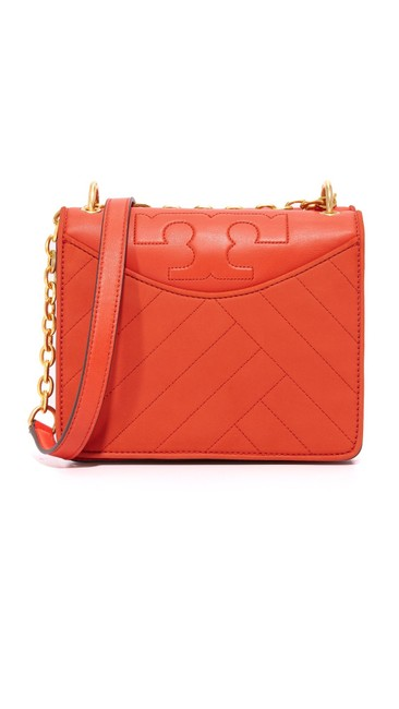 Item - Shoulder Alexa Mini Poppy Orange Leather Cross Body Bag