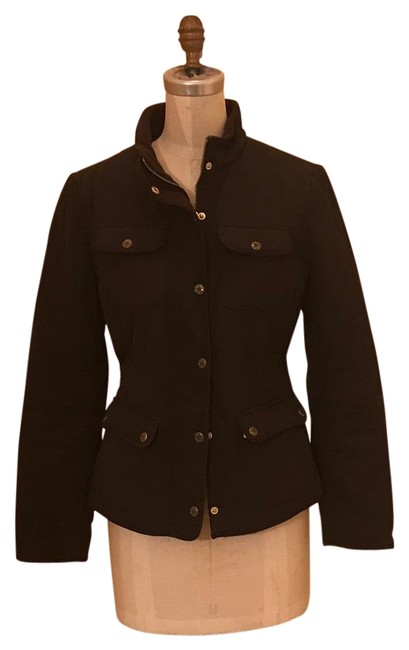 Item - Dk Brown Quilted Jacket Size 6 (S)