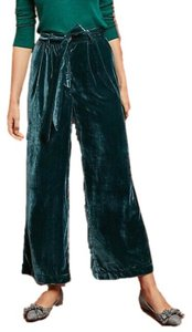 Trovata Wide Leg Pants Pine Green