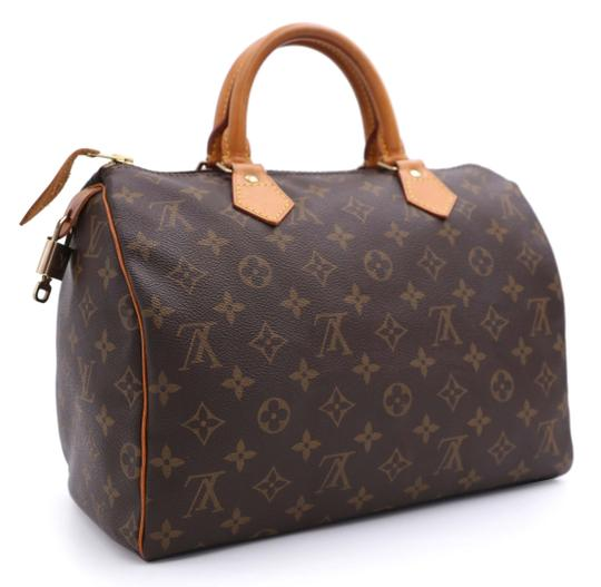 Louis Vuitton Vintage Satchel in Monogram Image 1