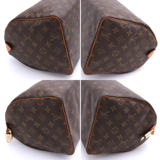 Louis Vuitton Vintage Satchel in Monogram Image 10