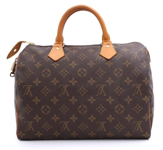 Louis Vuitton Vintage Satchel in Monogram Image 2