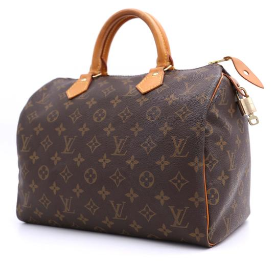 Louis Vuitton Vintage Satchel in Monogram Image 3