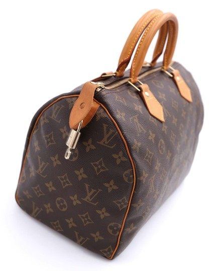 Louis Vuitton Vintage Satchel in Monogram Image 4