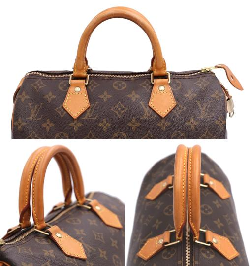 Louis Vuitton Vintage Satchel in Monogram Image 5