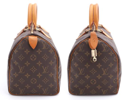 Louis Vuitton Vintage Satchel in Monogram Image 6