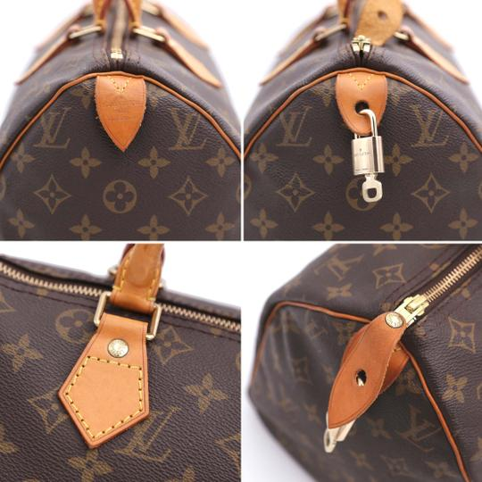 Louis Vuitton Vintage Satchel in Monogram Image 7