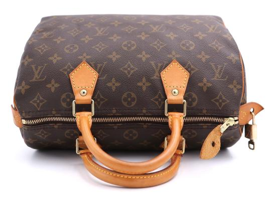 Louis Vuitton Vintage Satchel in Monogram Image 8