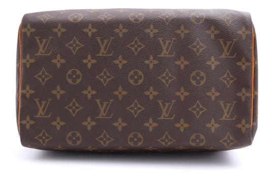 Louis Vuitton Vintage Satchel in Monogram Image 9
