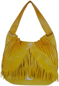 Jimmy Choo Fringe Studded Stars Made In Italy Shoulder Bag