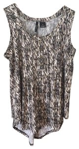 New Directions Top Black and cream