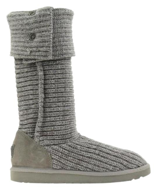 Item - Grey None Boots/Booties Size US 10 Wide (C, D)