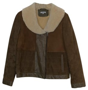 Surface to Air Brown multi Leather Jacket