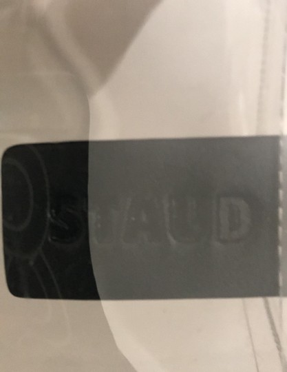 STAUD Satchel in clear/black Image 5