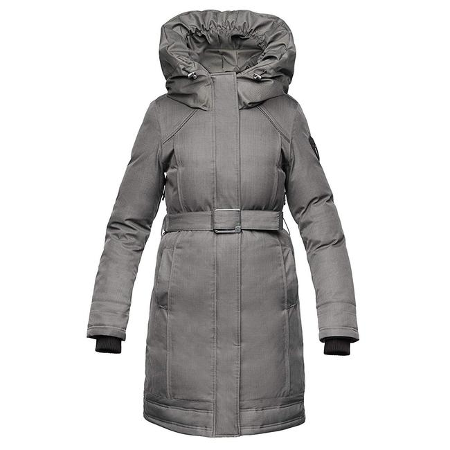 Item - Steel Grey Astrid Women's Parka Coat Size 00 (XXS)