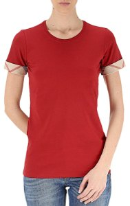 Burberry T Shirt red with tag