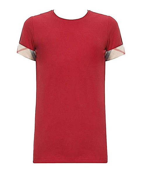 Burberry T Shirt red with tag Image 1