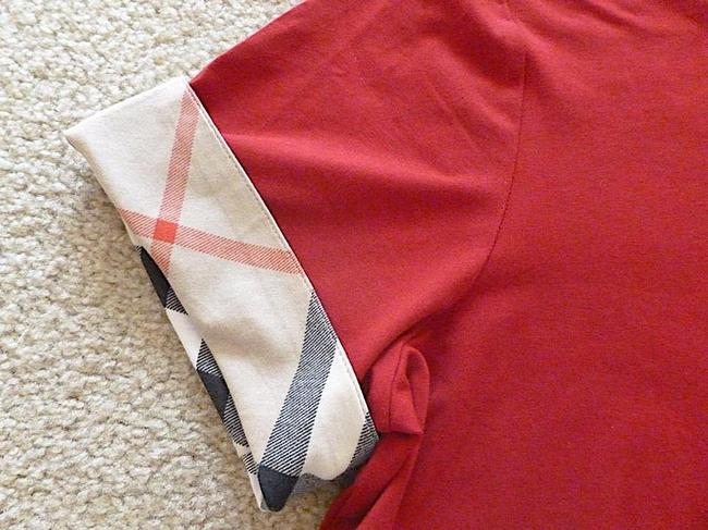 Burberry T Shirt red with tag Image 2
