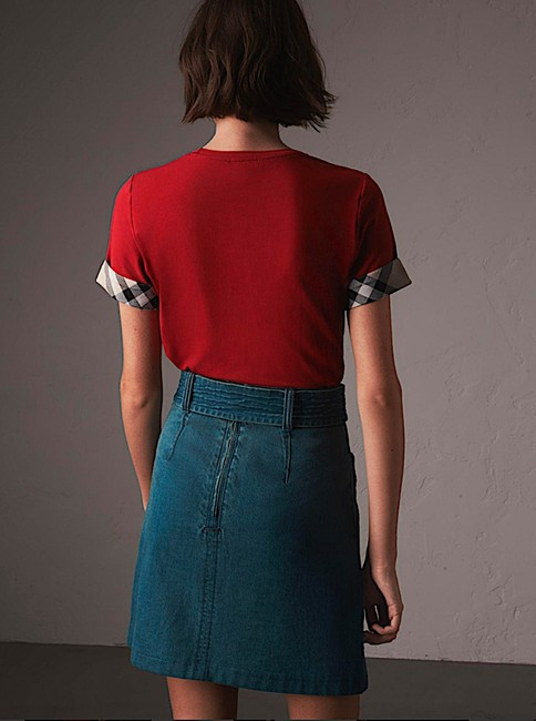Burberry T Shirt red with tag Image 5