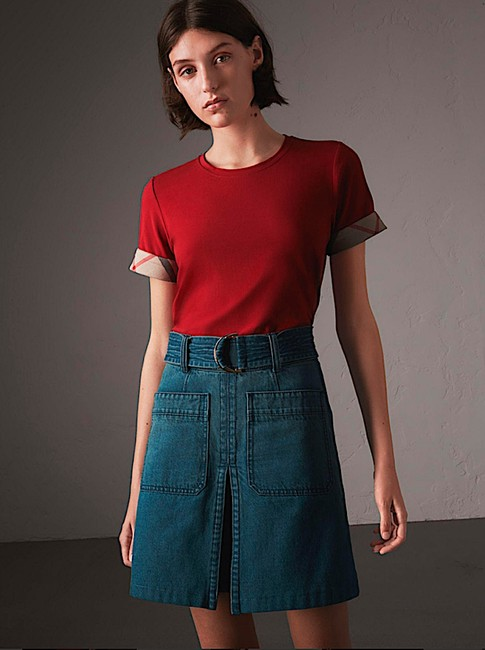 Burberry T Shirt red with tag Image 6