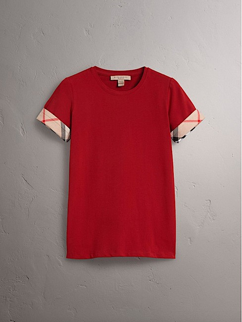 Burberry T Shirt red with tag Image 7