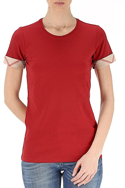 Burberry T Shirt red with tag Image 9