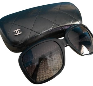 Chanel Chanel bow tie logo black sunglasses, limited edition