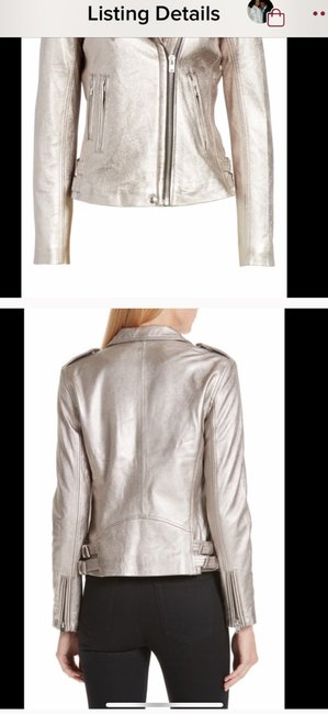 IRO Leather Jacket Image 1