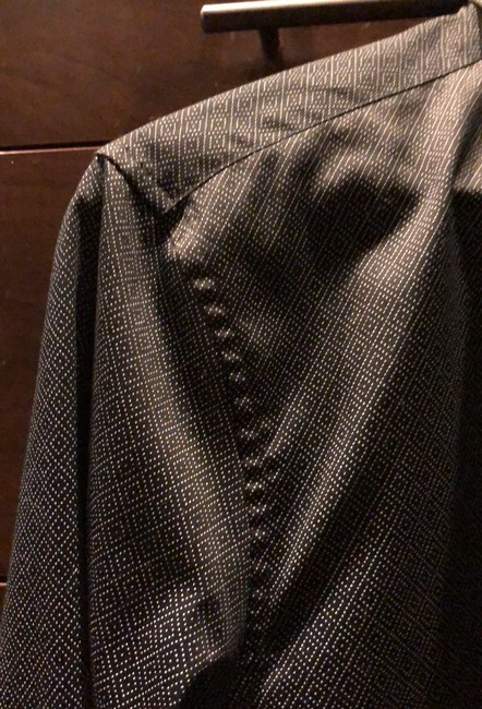Versace Collection Button Down Shirt black and gray Image 5