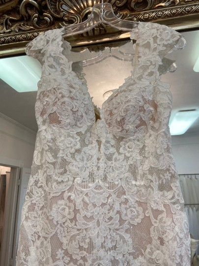 Maggie Sottero Ivory - Chauncey Formal Wedding Dress Size 14 (L) Image 1