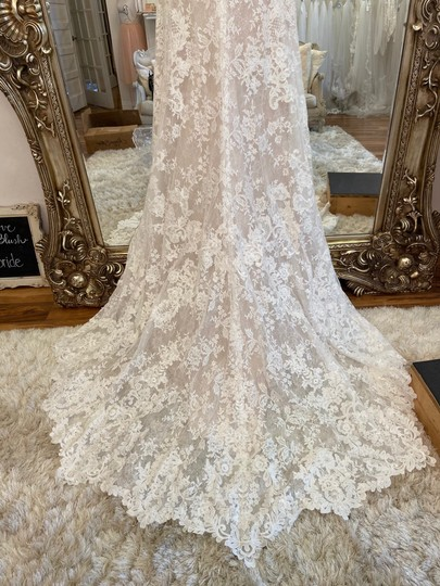 Maggie Sottero Ivory - Chauncey Formal Wedding Dress Size 14 (L) Image 2