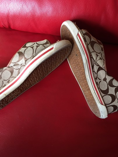 Coach brown Wedges Image 1