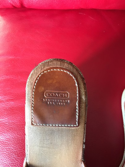 Coach brown Wedges Image 4