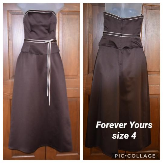 Preload https://img-static.tradesy.com/item/26250035/forever-yours-international-brown-chocolate-strapless-traditional-bridesmaidmob-dress-size-4-s-0-0-540-540.jpg